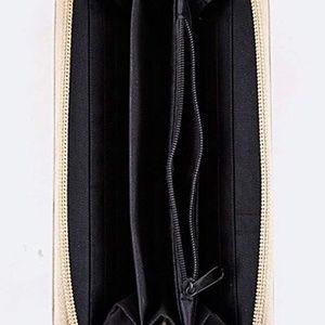 Bags - Kitten Hat Cute Bi-Fold Vegan Leather Wallet Wrist